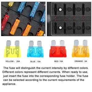 Image 3 - 32V 100A 8 Ways 10 Ways Blade Fuse Block Circuit insurance For Auto Car Marine M5 Stud With LED Indicator Light Fuse Box Holder