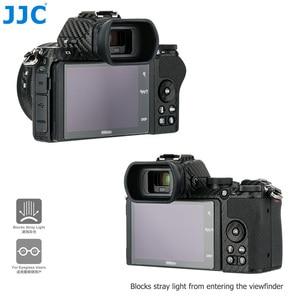 Image 5 - キウイソフトシリコーン拡張アイカップファインダー接眼レンズニコン Z50 ロング瞳カップ置き換え DK 30 アイシェードプロテクター