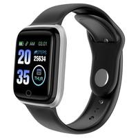 Fitness Uhr M6 Smart Uhr 5ATM Wasserdichte Bluetooth Sport Herz Rate Tracker Rufen/Nachricht Erinnerung Smartwatch für Android iOS-in Smart Watches aus Verbraucherelektronik bei
