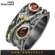 Dreamcarnival1989 кольцо в стиле барокко для женщин с покрытием