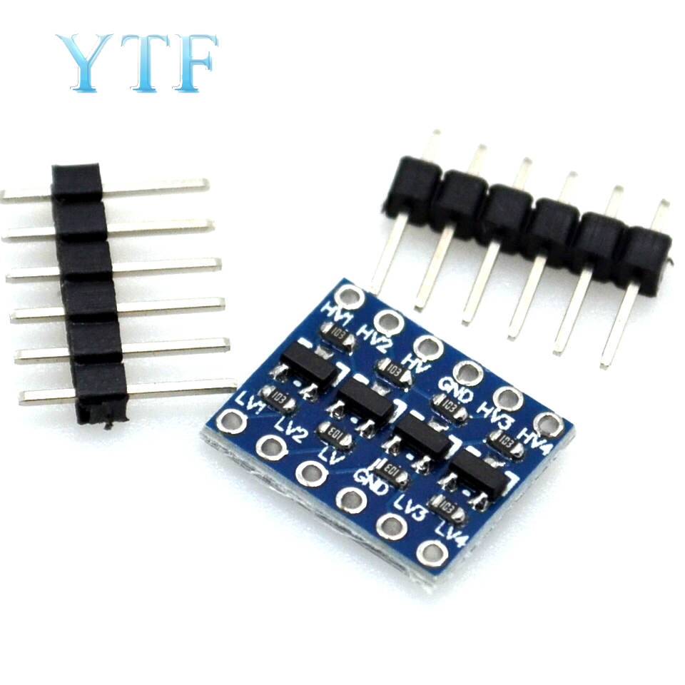 5pcs Logic Level Shifter Bi-Directional Four-Way Two-Way Logic Level Transformation Module
