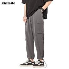 Комбинезон мужской в стиле хип хоп спортивные брюки джоггеры