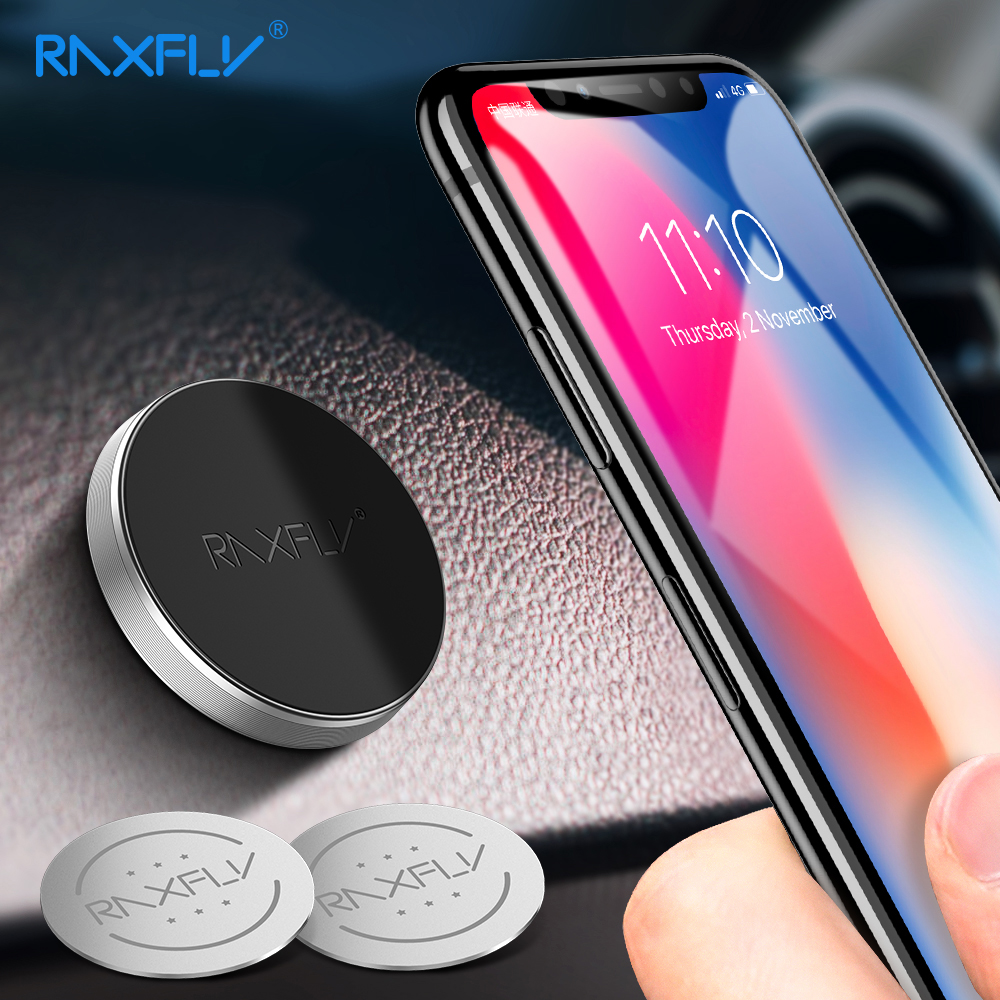 RAXFLY Magnetic Phone Holder Car Phone Holder Magnetic Holder For Phone In Car Support Mobile Phone Stand Mount Wall Desk Magnet