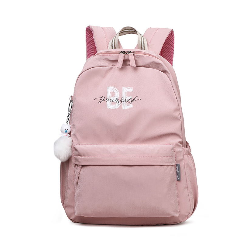 Fashion Casual Girl Bag High Quality Waterproof Oxford Bag Beautiful Style Bag Youth Backpack