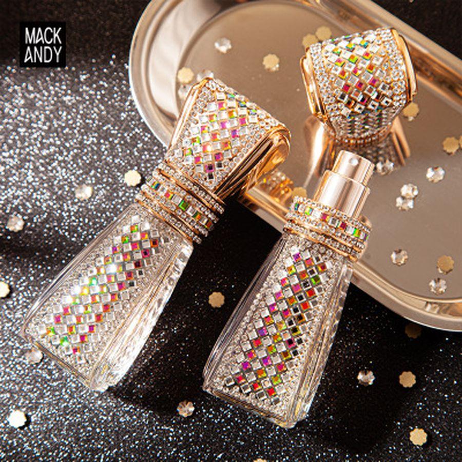 25ml Lady Sweetheart Fragrant Crystal Diamond Perfume Light Fragrance Lasting Body Spray Lady Glass Bottle Perfume