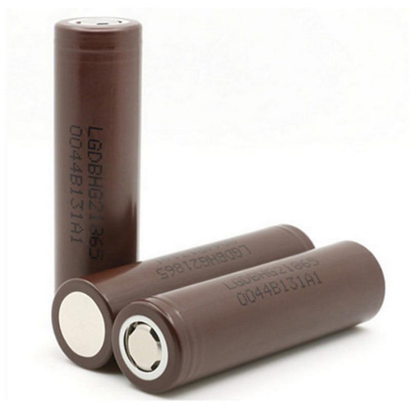 Hot Sale For LG 18650 HG2 3000mAh Rechargeable High Drain Li-ion Battery Flat Top Vape