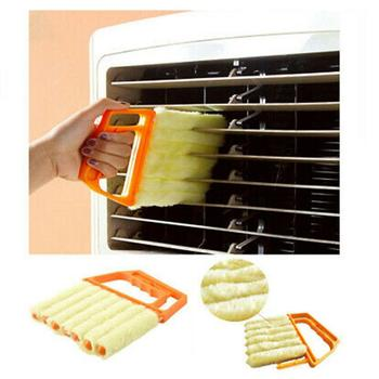 Microfiber Blinds Cleaning Brush Air Conditioner Duster Cleaning Brush Washing Windows Car Air Outlet Cleaning Tools TSLM1 2