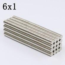1000/3000Pcs 6x1 Neodymium Magnet…