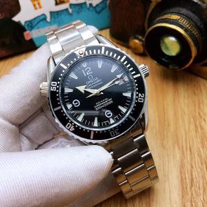 Designer ceasuri mecanice de circulație încheietura mâinii-007watch omega-lux automat mens brand
