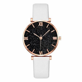 Women Watches 2020 Luxury Diamond Rose Gold Ladies Wrist Watches Leather Band Women Bracelet Watch Female Clock Relogio Feminino
