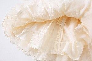 Image 5 - Robe dautomne pour filles, tenue princesse occidentale pour fêtes et mariages, laque, manches longues, nouvelle collection
