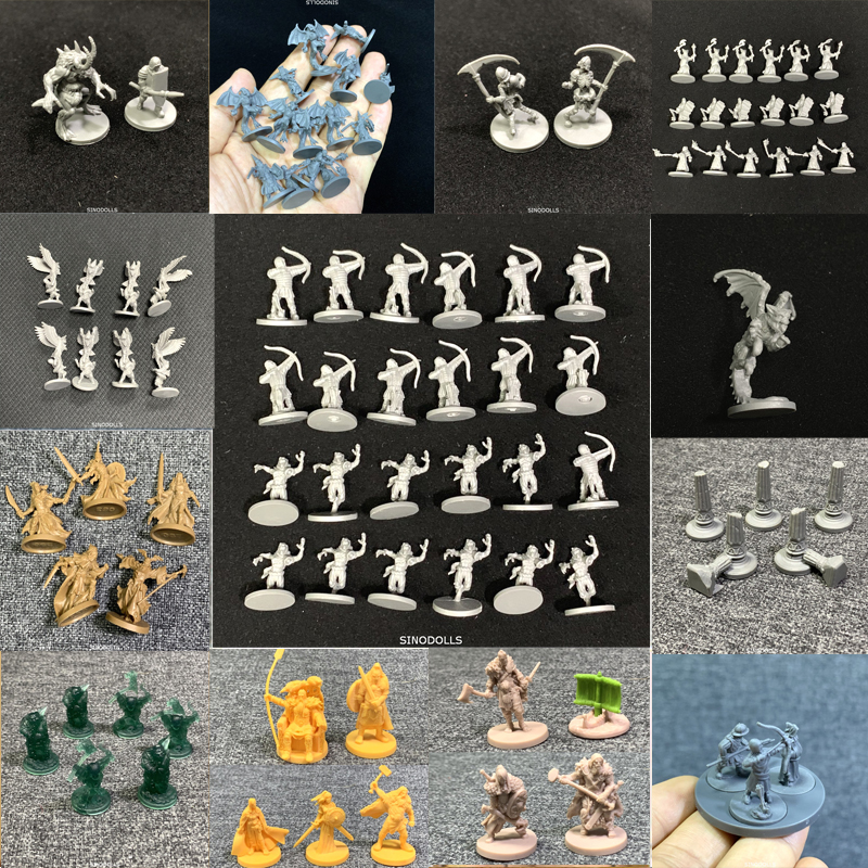 New Dungeon Board Role Playing Games D & D Miniatures Model Underground City Series Cthulhu Wars Game Figures Set