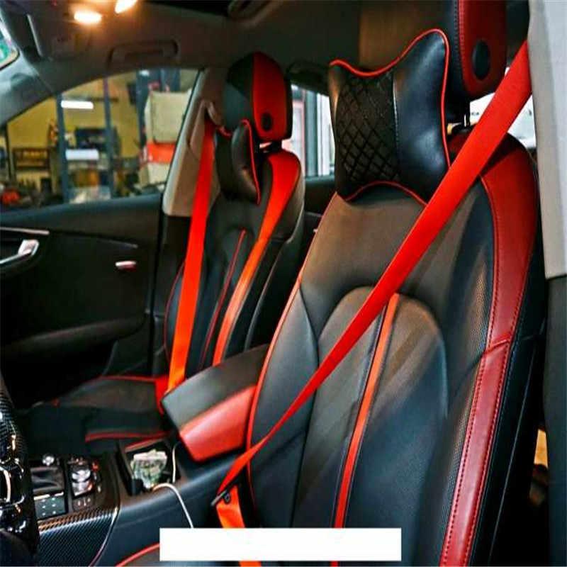 FLYJ 3M รถที่นั่งเข็มขัดสายรัด Thicken รถที่นั่งเข็มขัดปลั๊กกระเป๋าเป้สะพายหลังเข็มขัด gordelhoes รถอุปกรณ์เสริม