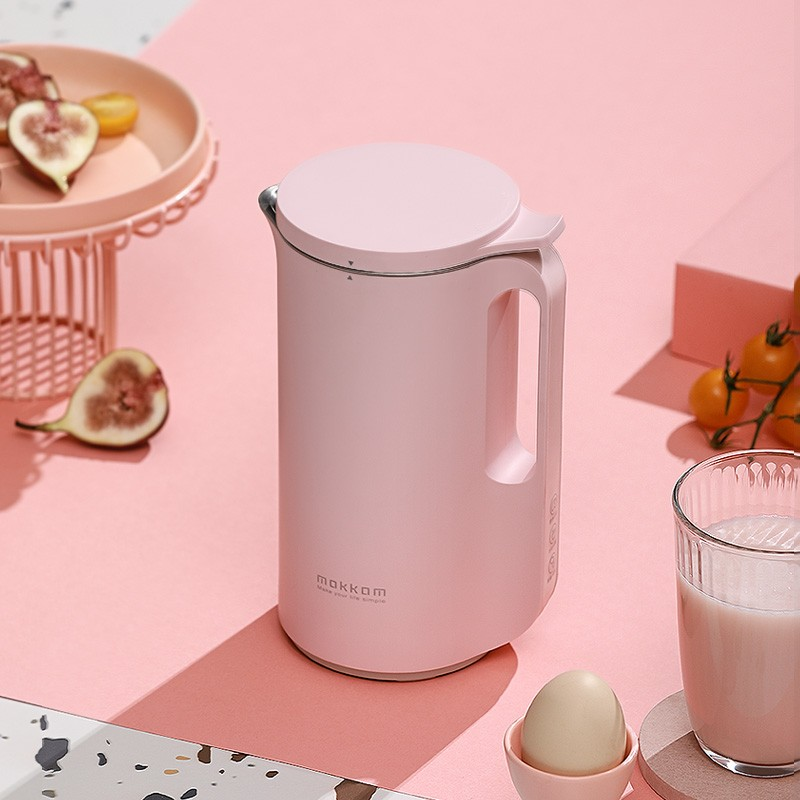 350ML Household Soymilk Maker 304 Stainless Steel Breakfast Food Blender Soup Rice Past Baby Food Mixer Fruit Juice Maker 220V