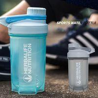 Esfera de Aço de 500ml Esporte Garrafa Shaker Proteína BPA Livre Garrafa de Água de Fitness Gym Shaker Misturador de Proteína de Soro de leite Crianças Beber copo Caneca