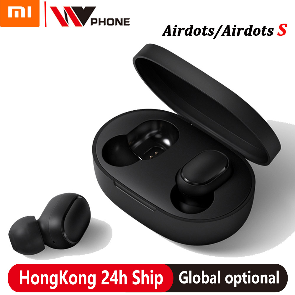 xiaomi airdots s tws Redmi Airdots TWS Wireless earphone Voice control Bluetooth 5.0 Noise reduction Tap Control Bluetooth Earphones & Headphones    - AliExpress