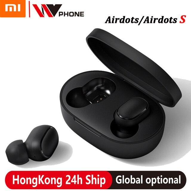xiaomi airdots s tws Redmi Airdots TWS Wireless earphone Voice control Bluetooth 5.0 Noise reduction Tap Control