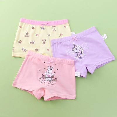VIDMID new Baby Kids girls Panties Children Underwear Baby kids Girls Cotton Lovely unicorn Panties Children Clothes 7130 02 2