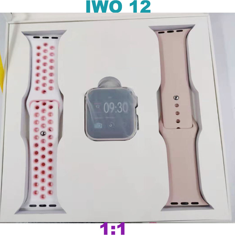 Fast Free Shipping W55 IWO <font><b>12</b></font> Waterproof <font><b>Smart</b></font> <font><b>Watch</b></font> 5 Series 1:1 clone Bluetooth Smartwatch Heart rate for iOS Android image