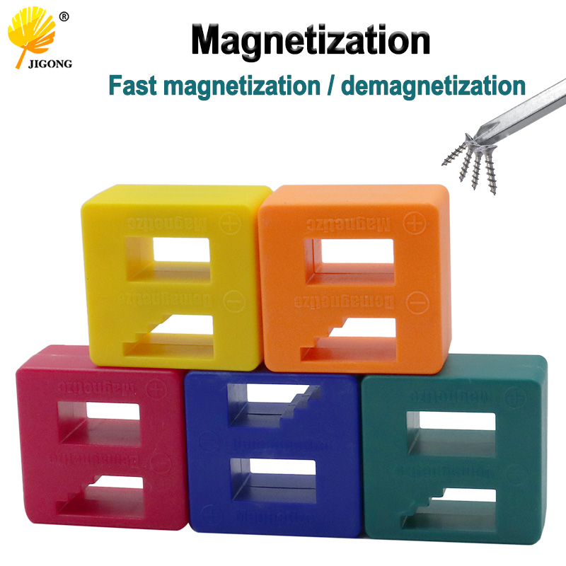 Powerful Screwdriver Plus Magnetic Device Dual-use Degausser Mini Screw Batch Fast Magnetizer Demagnetizer