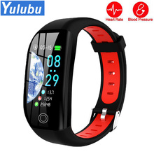 Hot F21 1.14 inch HD Screen Smart Bracelet Band Female Functions Heart Rate Blood Pressure Monitor Watch for iOS Android