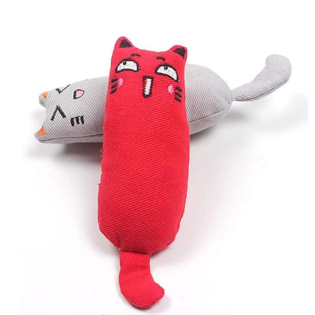 Plush Thumb Pillow For Cats 6