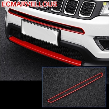 Grille Outlet Air Conditioner Automobile Decorative Modified Car Styling Accessory Accessories Sticker Strip 17 FOR JEEP Compass