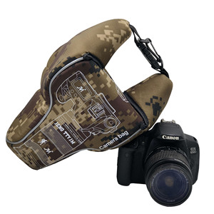 Image 4 - مثلث التمويه الرقمية DSLR كاميرا فيديو حقيبة عدسة أنبوب صدمات الرياضة التصوير واقية ل Pentax كانون نيكون