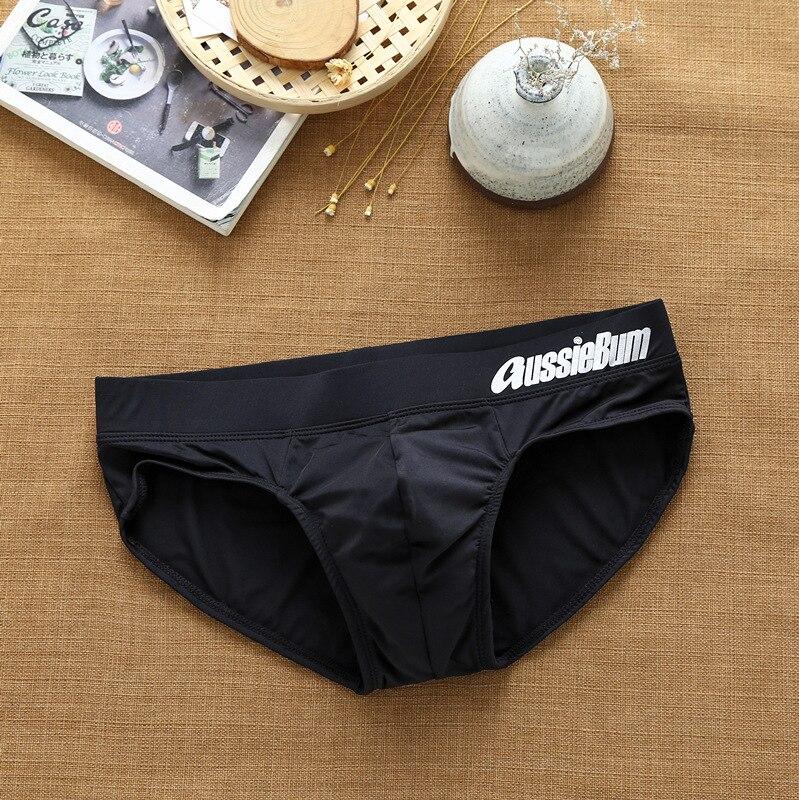 Men's Aussiebum briefs with milk silk low waist stretch stereo bag fit comfortably 4