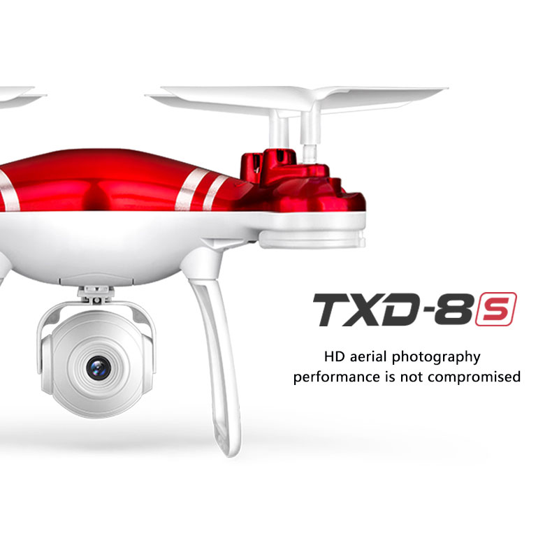 RC drone remote control quad drone TXD-8S with camera 2 4G 6 axis remote control helicopter with webcam HD adjustable