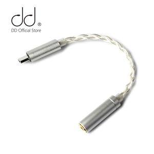 Image 1 - DD ddHiFi TC35 USB type c à Jack 3.5 câble adaptateur pour téléphone portable Android Huawei Xiaomi oppo vivo SAMSUNG etc, 192kHz/32bit