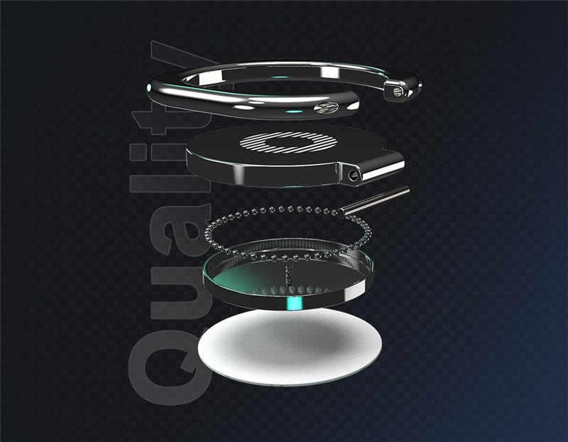 指リングホルダー磁気電話ホルダー pocophone F1 Doogee X90 S68 S60 n20 OUKITEL K13 c70 U25 Blackview A80 BV9900 マウント
