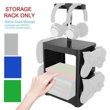Game Disc Storage Rack For XboxOne Headphone Storage / Rack Rack Xsx For Switch For PS5 Holder Storage Multi-Functional F7E4