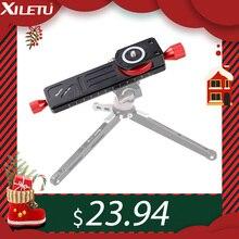 XILETU LCB-16M мини Макросъемка рельс слайдер Настольный портативный слайдер для камеры Макросъемка покадровая фотография ARCA SWISS