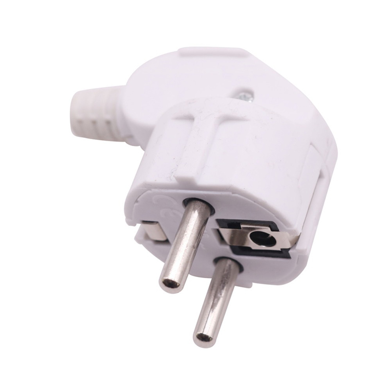 H307ebf84e7604e3684b0a04678b49665b - 16A EU 4.8mm AC Electrical Power Rewireable Plug Male for Wire Sockets Outlets Adapter Extension Cord Connector plug