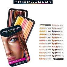 PRISMACOLOR – Crayon de couleur à l'huile pour étudiants, 24 couleurs de Peau, importé des états-unis
