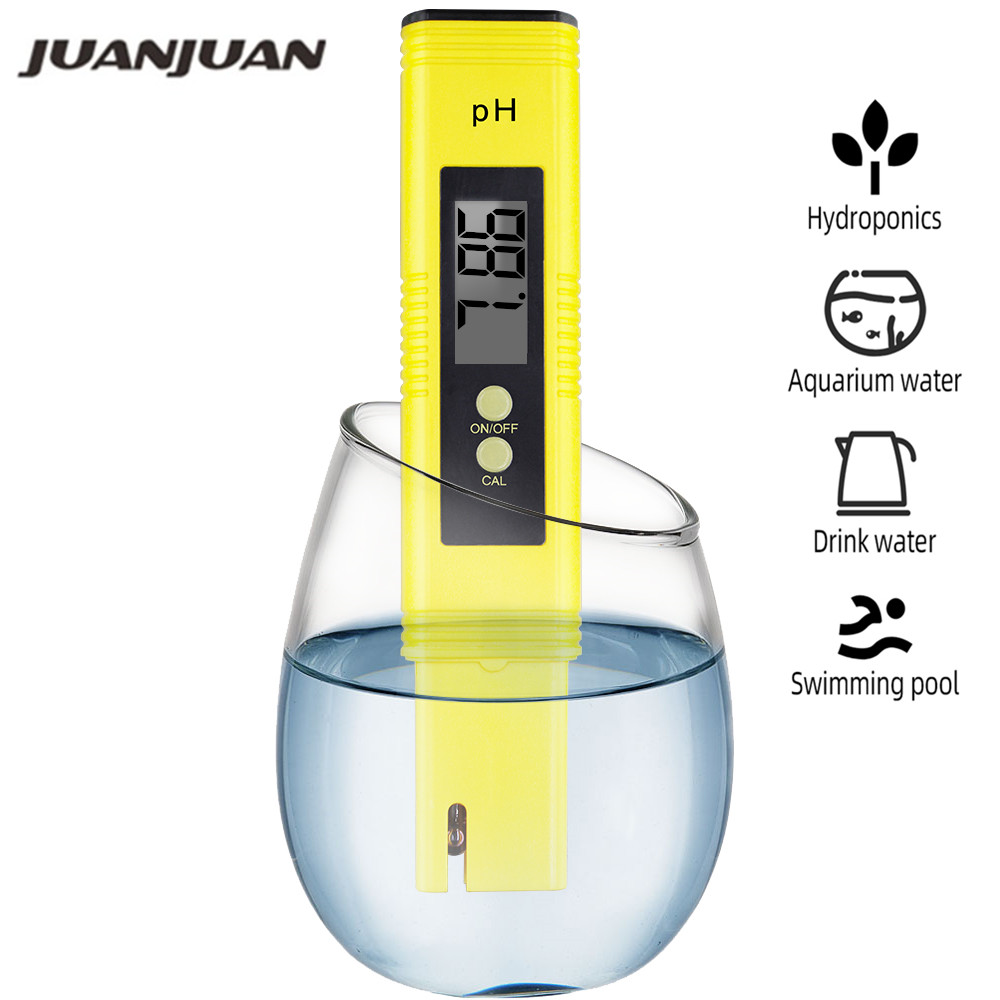 Water PH Meter Pocket Pen Digital 0.01 Measuring Water Quality Purity Automatic Calibration For Laboratory Aquarium Pool 40%off