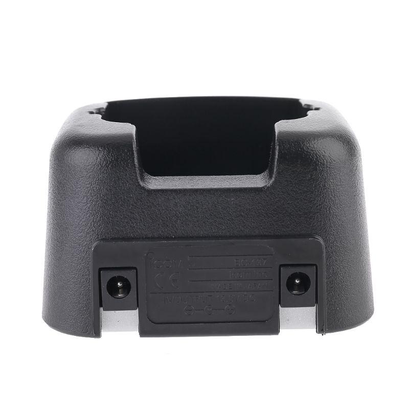 BC137 Desktop Charging Dock Base Charger for Icom Walkie Talkie IC-V8 IC-V82 Kit AXYF