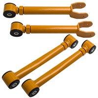 2 peças de suspensão para braços superiores e 2 x dianteiros para grand cherokee wj 2003-2012