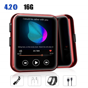 Image 1 - MP3 Player with Clip Portable MP3 Player with Bluetooth 4.2 Music Player with FM, Full Touch Screen Mini MP3 Player for Sports