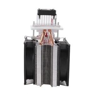 12v 6a termoelétrico peltier semiconductor cooler sistema de refrigeração kit cooler ventilador para refrigeração de ar