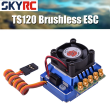 SKYRC TORO TS120 bezszczotkowy czujnik ESC czujnik bezczujnikowy bezszczotkowy silnik do 1:10 1:12 RC samochód niebieski/czarny/złoty