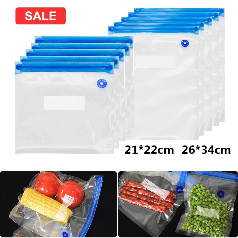 Sealing Food Vacuum Sealer Bags Machine