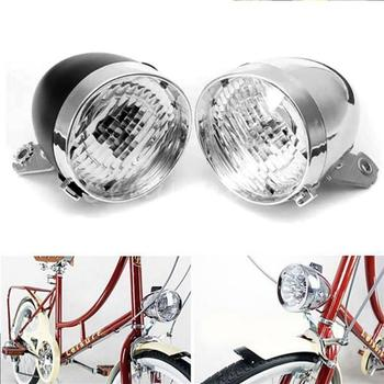 New Bicycle headlight Car headlights bicycle lights retro lights 3LED dead speed lights vintage car bicycle lights Bike Accessor image