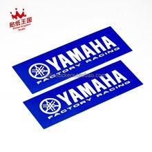 2 Pics For YAMAHA TEAM Factory Racing Motorcycle Motor Bike Decal Waterproof Sticker 09