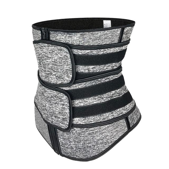 אישה גוף Shaper מחוך מותניים מאמן בטן הרזיה נדן הפחתת מחוכים משקל אובדן Shapewear בטן מעצבי דוגמנות חגורה