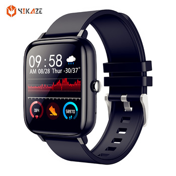 P6 Smart Watch Men Bluetooth Heart Rate Monitor Smart Clock Women Sports Fitness Tracker Full Touch Whatsapp IOS Android PK P8 1