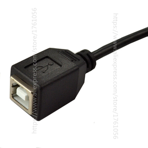 Image 5 - Right Angled 90 Degree USB Printer Scanner Cable 25cm USB 2.0 B Male to B Female Printer Scanner Extension Cable