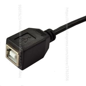 Image 5 - Прямой Угловой USB кабель для принтера 90 градусов, 25 см, USB 2,0 B, штекер для B, гнездовой удлинитель для сканера