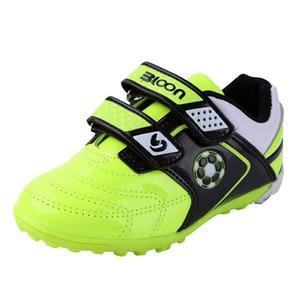 Image 1 - BLOON zapatos de fútbol para niños, calzado de fútbol para interiores, botas de fútbol deportivas, zapatillas de deporte para niñas y niños, sala de fútbol